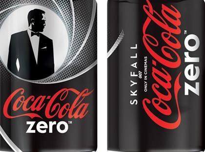 Skyfall release prompts James Bond edition of Coke Zero