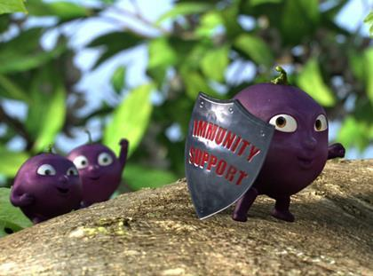 Ribena Plus immunity support ad