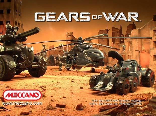 Meccano kicks off big push for Gears of War line-up