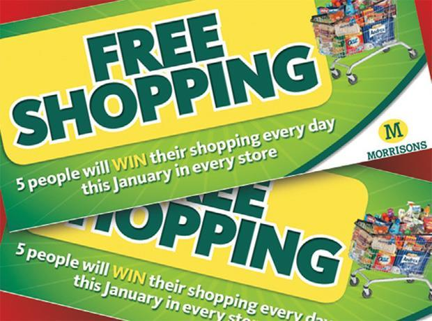 Morrisons free shopping offer