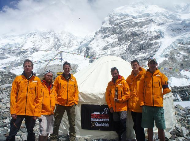 Glenfiddich whisky tasting on Everest
