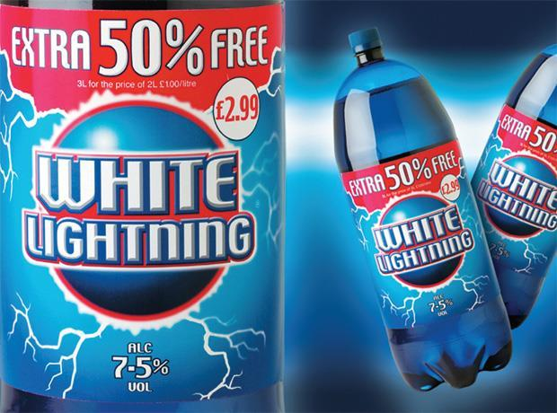 White Lightning cider