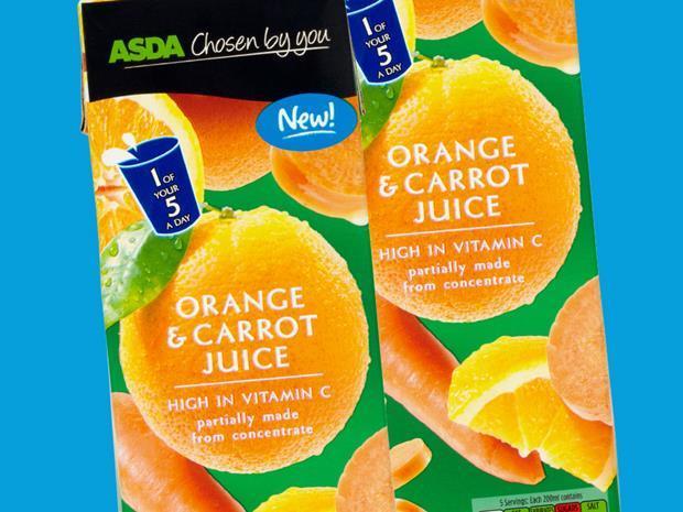 acid test orange and carrot juice