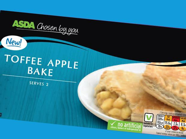 acid test: toffee apple bake