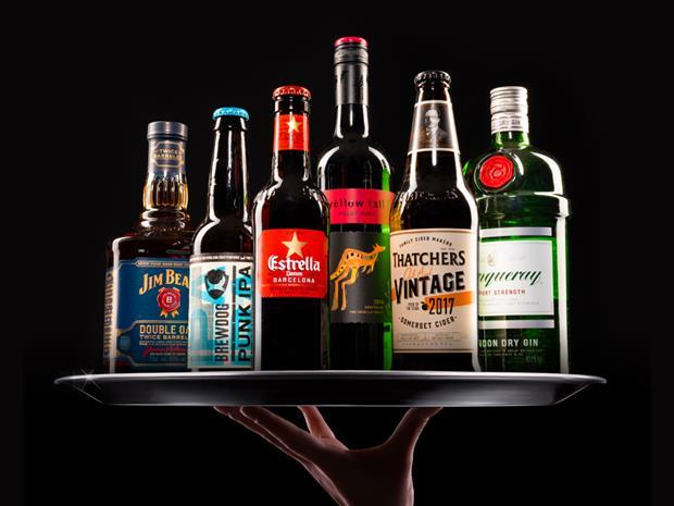 Britain's Biggest Booze Brands 2018
