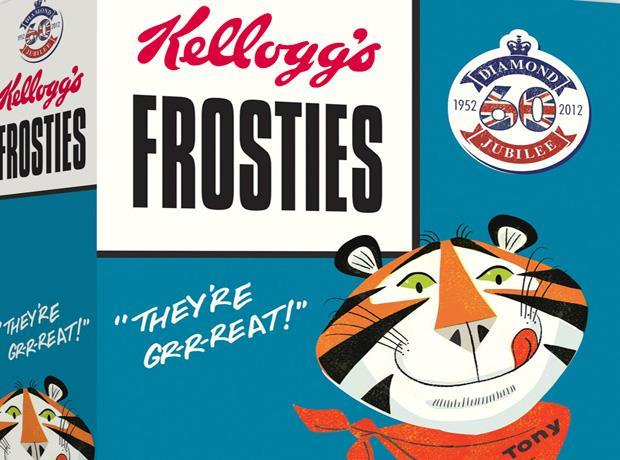 Kellogg's turns back time for Jubilee packs