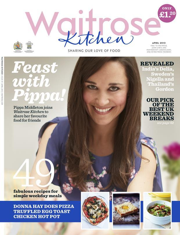 Pippa Middleton Waitrose