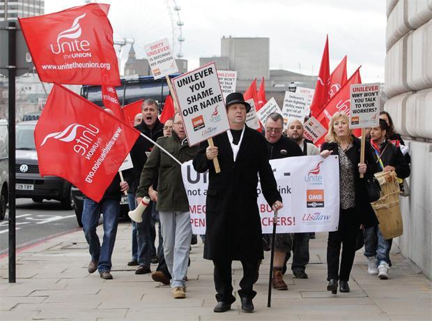 Unilever strike action