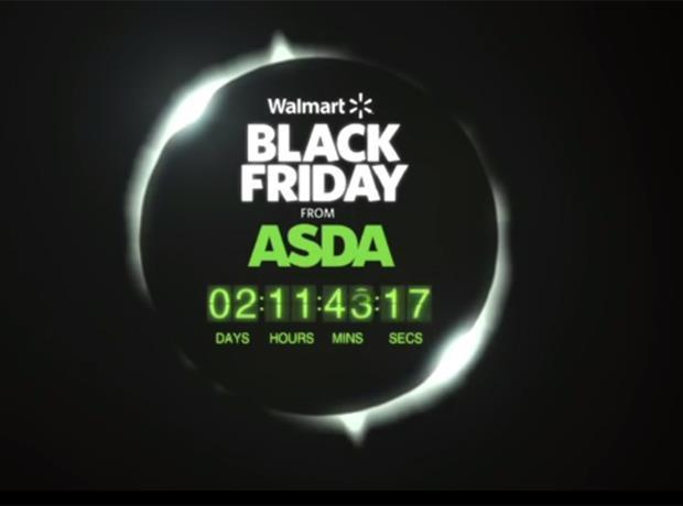 Walmart's Black Friday at Asda