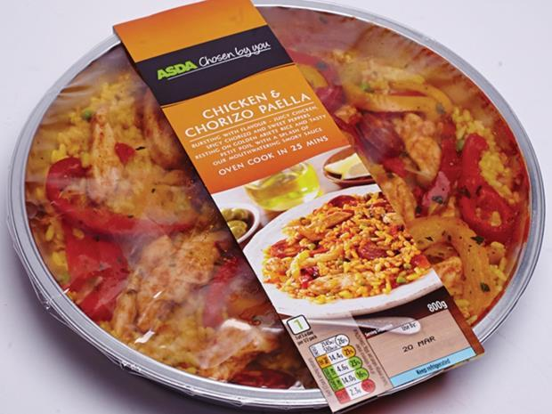 Mediterranean Chilled Ready Meals: Asda Chosen by You Chicken ... Canned Food