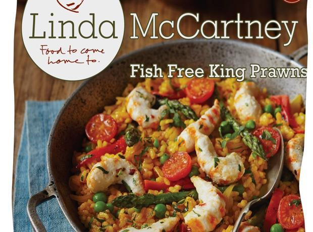 Linda McCartney fish free prawns